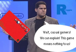 Earthbound 2 / Mother 3: Reggie confirms that MOTHER 3 is as