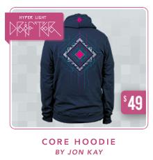 Hyper Light Drifter Core Hoodie