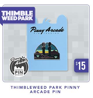 Thimbleweed Park Pinny Arcade Pin