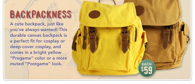 Backpackness