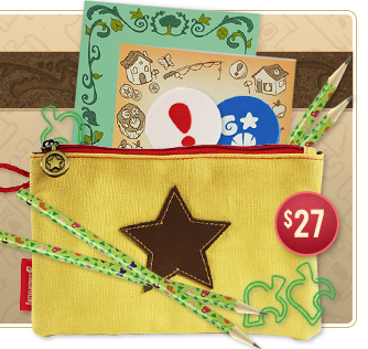 Bell Pouch and Stationery Set