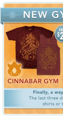 Cinnabar Gym Shirt