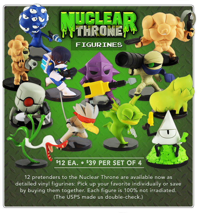 Nuclear Throne Figurines