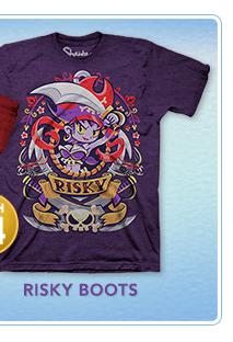 Shantae Risky Boots Shirt