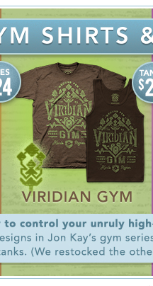 Viridian Gym Shirt