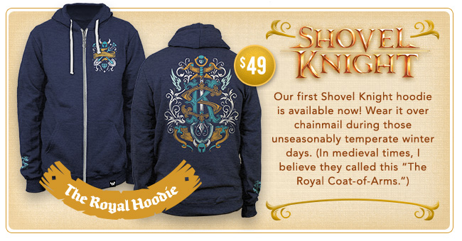 Shovel Knight Royal Hoodie